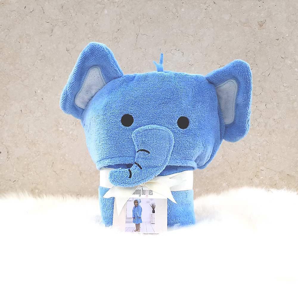 Elmo Elephant toddler bath robe