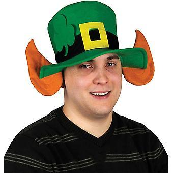 Felt Leprechaun Hat W/Ears For Adults