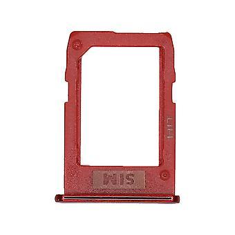 Véritable Samsung Galaxy J6 Plus - SM-J610 - Nano SIM Card Tray - Rouge - GH64-07117B