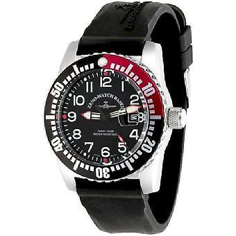 Zeno-Watch Herrenuhr Airplane Diver Quartz 6349-515Q-12-a1-7