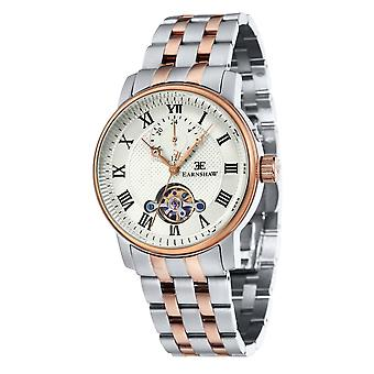 Thomas Earnshaw Es-8042-44 Westminster Two Tone Stainless Steel Automatic Men's Watch