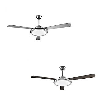 Teto Fan Bahia Nickel 132cm / 52