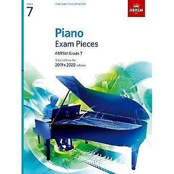 Pièces d'examen de piano 2019 & 2020-ABRSM grade 7-sélectionné du