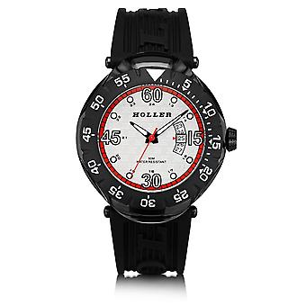 Holler Goldwax sport zwart & rood horloge HLW2188S-9