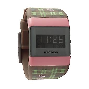 Wize and Ope Varsity  Grey and Pink Digital  Watch WO-VAR-3