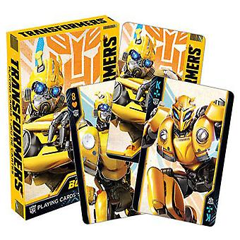 Transformers Bumblebee Playing Cards