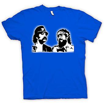 Mens t-skjorte - Cheech- og Chong - komedie Retro