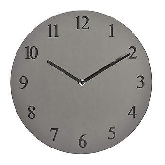 Uhr aus Wandglas 40 cm