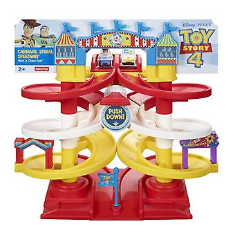 Fisher-hinta Toy Story 4 Spiral Speedway