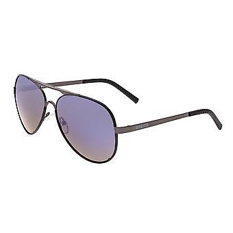 Rasse-Genesis polarisierte Sonnenbrille - Rotguss/lila-blau