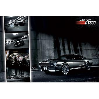 Ford Mustang Shelby GT500 Maxi Poster 61x91.5cm
