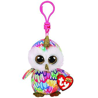 TY Key Clip Enchanted the Owl with Horn