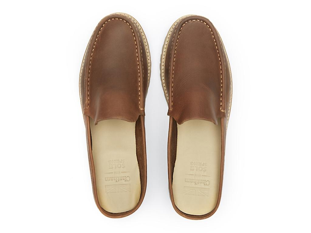Chatham Men's Hart Premium Leather Mules
