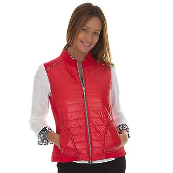 JUST WHITE Just White Red Gilet 41722