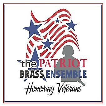 Patriot Brass Ensemble - import ehrt Veteranen [CD] USA