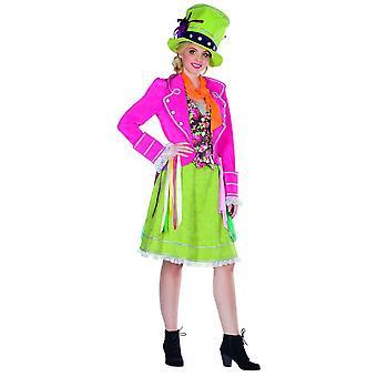 Milliner dress costume ladies tea party carnival clown circus