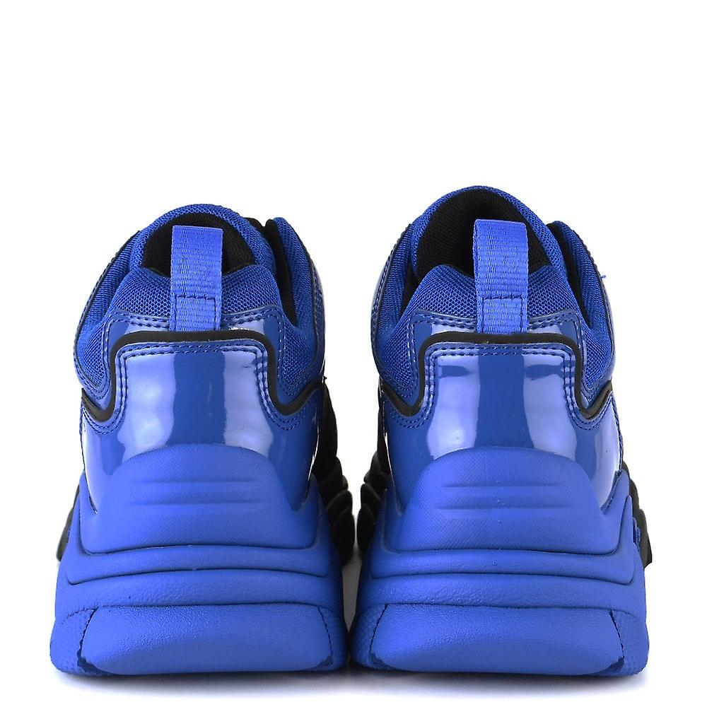 Ash ACTIVE Trainers Blue & Black Mesh ep2jk