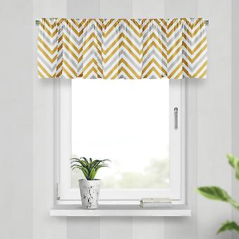Meesoz Valance - Duo Zigzags Gold