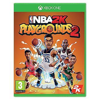 NBA 2K speeltuinen 2 Xbox One-spel