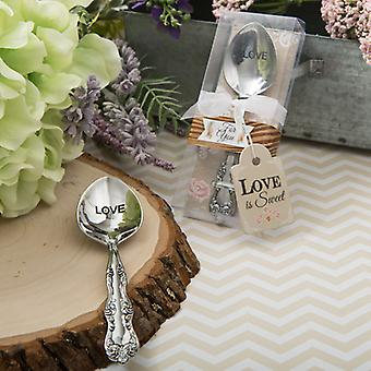 Love is Sweet Collection Victorian Love Engraved Sugar Spoon