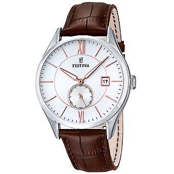 Festina F16872/2 Retro Herren's Uhr 42mm 5 ATM