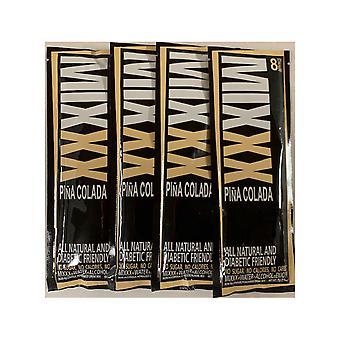 Mixxx nul calorie alle natuurlijke Pina Colada-poeder cocktail mixers, 4-pack van 8 porties EA