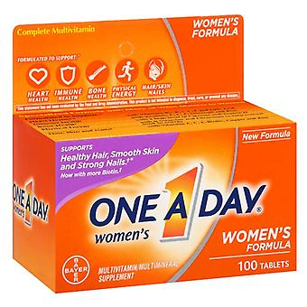 One a day women's multivitamin supplement, tablets, 100 ea