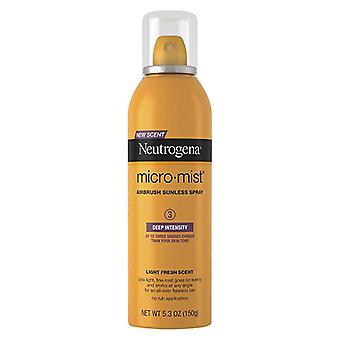 Neutrogena micromist tanning, sunless spray, deep, 5.3 oz