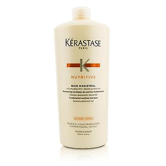Kerastase Nutritive Bain Magistral Fundamental Nutrition Shampoo (severely Dried-out Hair) - 1000ml/33.8oz