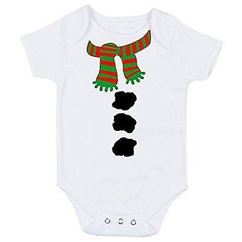 Babygrow costume de bonhomme de neige