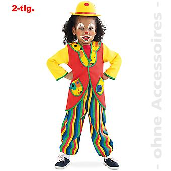 Clown Kostüm Zirkus Kinder Bunt Clownkostüm Kinderkostüm