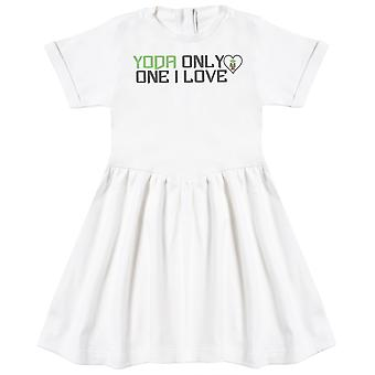 Yoda Only One I Love - Baby Dress
