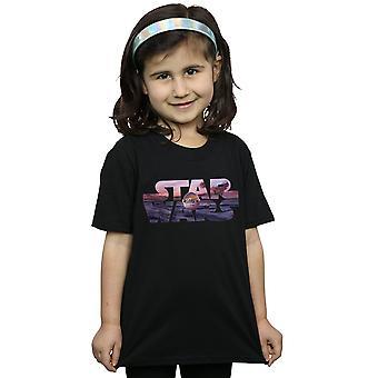 Star Wars Girls The Mandalorian The Child Logo T-Shirt
