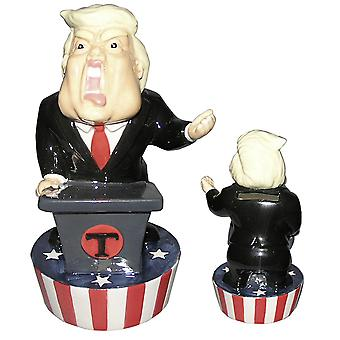 The President money box hand-painted, made of 100% ceramic, in gift box.