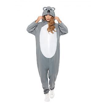 Koala Bear Costume, Party Animals Fancy Dress, XL
