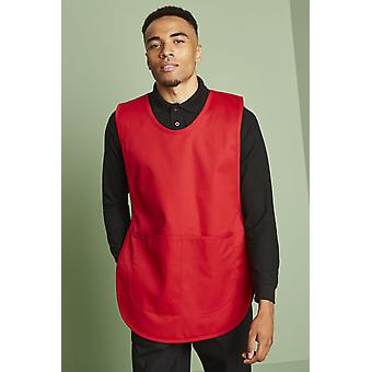 SIMON JERSEY Unisex Classic Tabard, Red