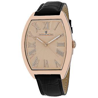 Christian Van Sant Men-apos;s Rose gold Dial Watch - CV0274