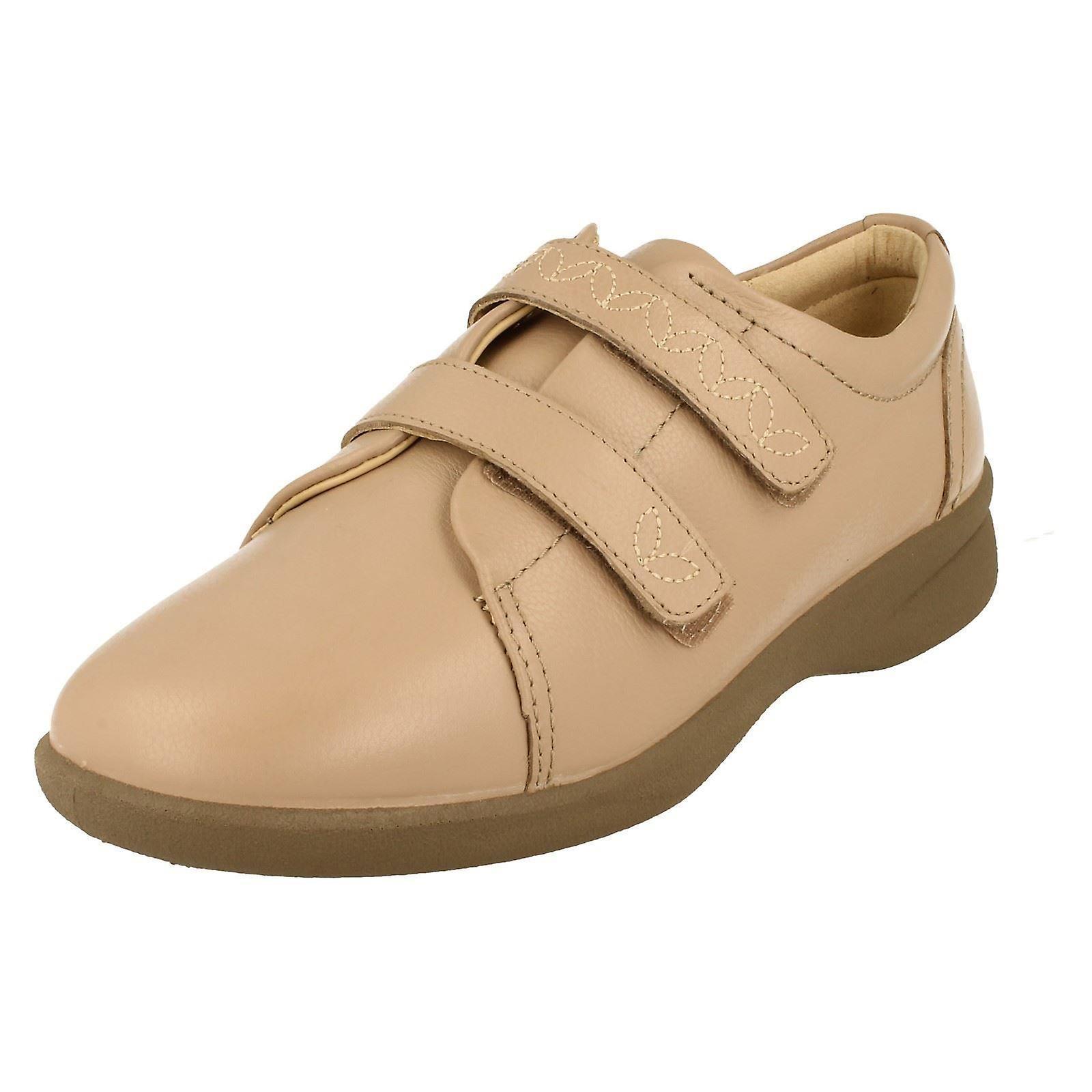 Ladies Padders Dual Fitting Flat Shoes Revive 2 PFu1K