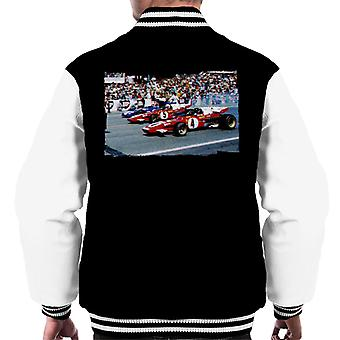 Motorsport Images Tyrrell 003 Regazzoni Ferrari 312B2 Men's Varsity Jacket