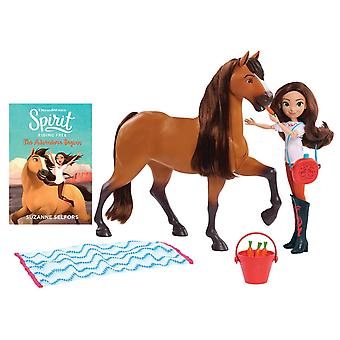 Dreamworks Spirit Riding Free Spirit and Lucky Deluxe Feeding Set