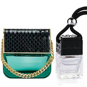 Marc Jacobs Decadence For Her Inspired Fragrance 8ml Black Lid Bottle Hanging Car Vehicle Auto Air Freshener