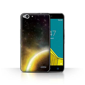 STUFF4 Case/Cover for Vodafone Smart Ultra 6/Yellow Planet/Space/Cosmos