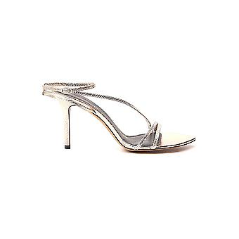 Isabel Marant Sd050820p030s12go Women's Gold Leather Sandals