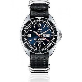 CHRIS BENZ - Diver's Watch Watch - ONE MAN 200M TAUCHEN Edition - CBO-BT-NBS