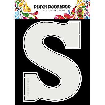 Hollandsk Doobadoo Card Art A5 Chocolade brev 'S' (NL) 470.713.753