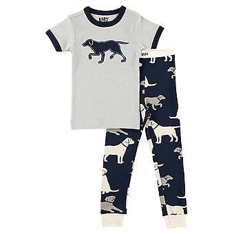 LazyOne Kinder/Kinder Unisex Labradoren Pyjama Set