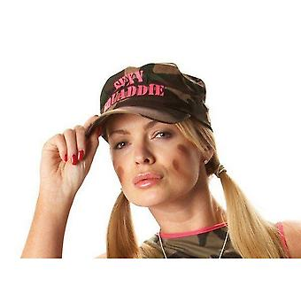 Bristol Novlety Womens / Ladies Army-Style Camouflage Baseball Hat