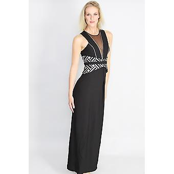 Gilded youth maxi dress