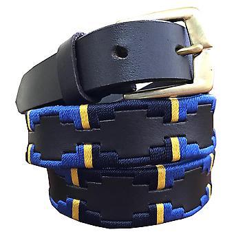 Carlos diaz boys  brown leather  polo belt cdkpbhk7