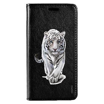 Kotelo Huawei P20 Lite Musta Valkoinen Tiikeri Pattern